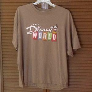 Vintage Walt Disney World WDW Greenish Grey Mickey